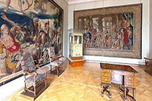 Interior of State Hermitage. Saint Petersburg